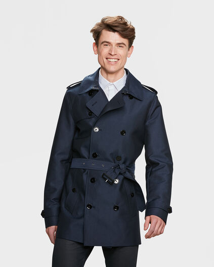 TRENCH COAT CLASSIC HOMME Bleu marine