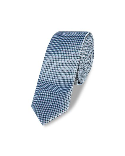 CRAVATE STRUCTURED HOMME Bleu marine