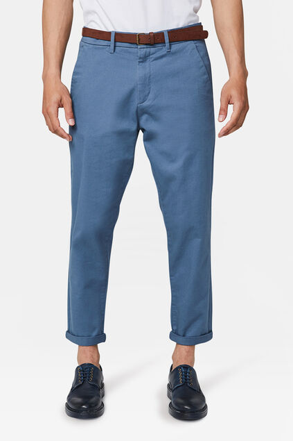 Chino loose tapered homme Bleu foncé