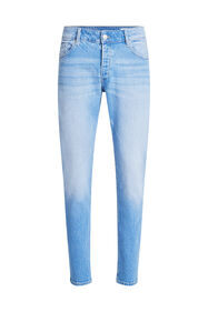 Jeans slim fit stretch confort homme_Jeans slim fit stretch confort homme, Bleu vif