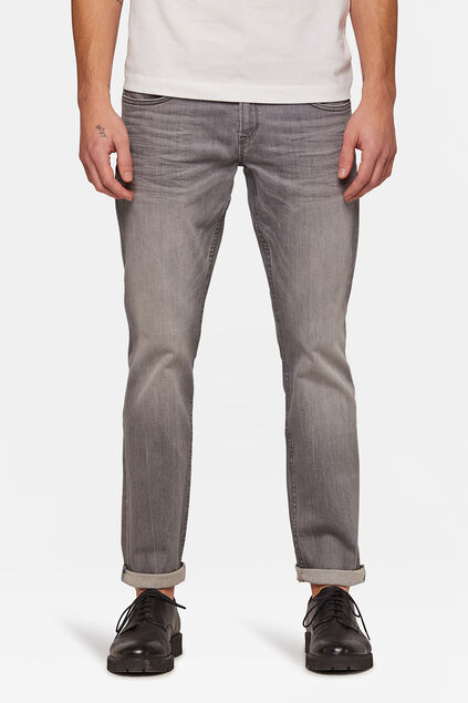 Jeans regular straight leg homme Gris