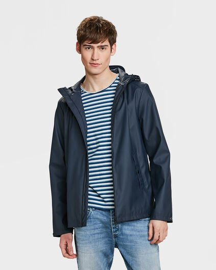 IMPERMÉABLE REGULAR FIT HOMME Bleu marine