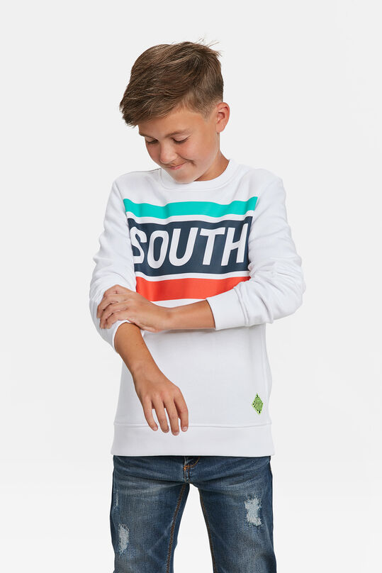 SWEAT-SHIRT IMPRIMÉ SOUTH GARÇON Blanc