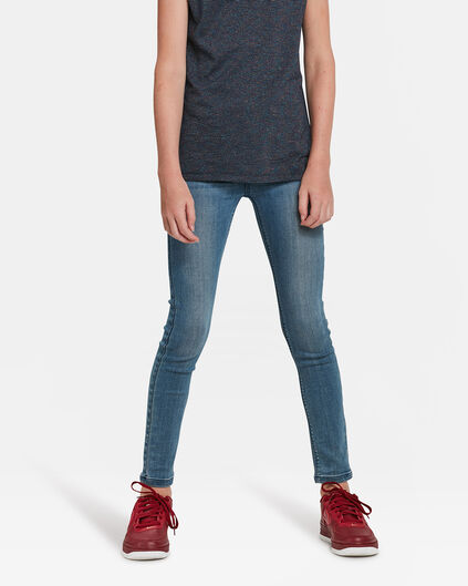 JEGGING SUPER SKINNY SUPER STRETCH FILLE Bleu