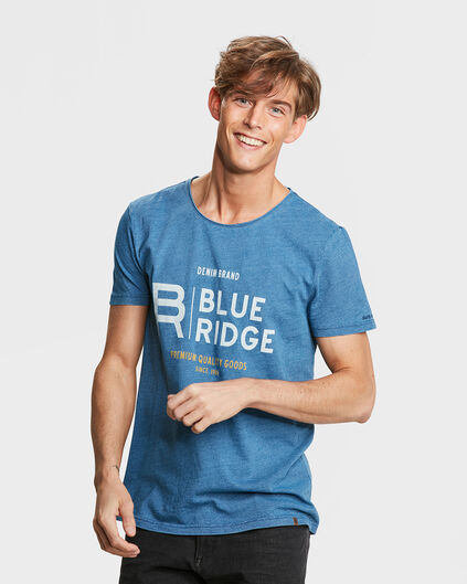 T-SHIRT BLUE RIDGE HOMME Indigo