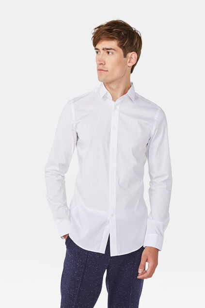 Chemise slim tall fit homme Blanc