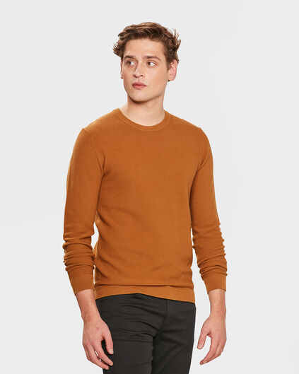 PULL STRUCTURE HOMME Caramel