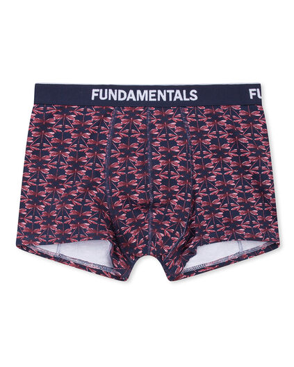 BOXER PRINTED HOMME Noir