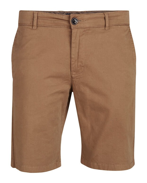 SHORT REGULAR FIT HOMME Brun