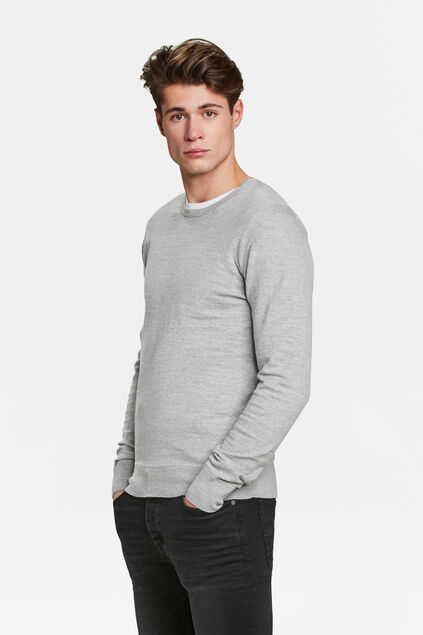 PULL HOMME Gris clair