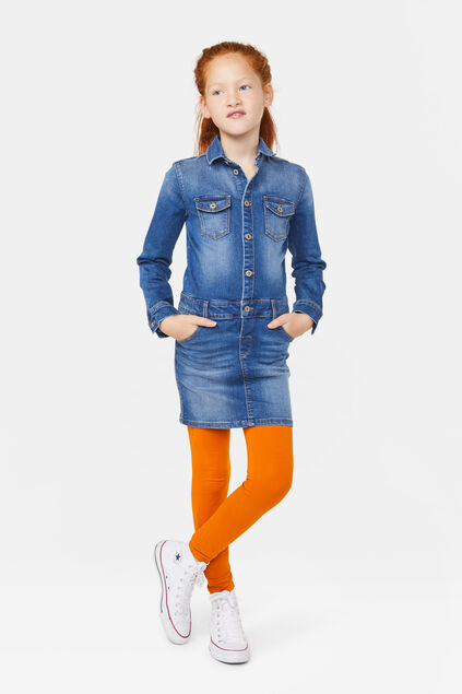 Legging skinny fit fille Orange