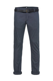 Chino slim tapered à structure homme_Chino slim tapered à structure homme, Bleu foncé