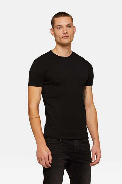 T-SHIRT ORGANIC COTTON HOMME Noir
