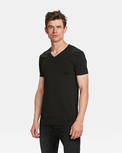 PACK DE 2 T-SHIRTS TALL FIT HOMME Noir