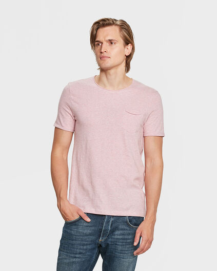 T-SHIRT SLIM FIT HOMME Rose
