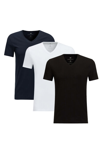 T-shirt homme basic pack de 3