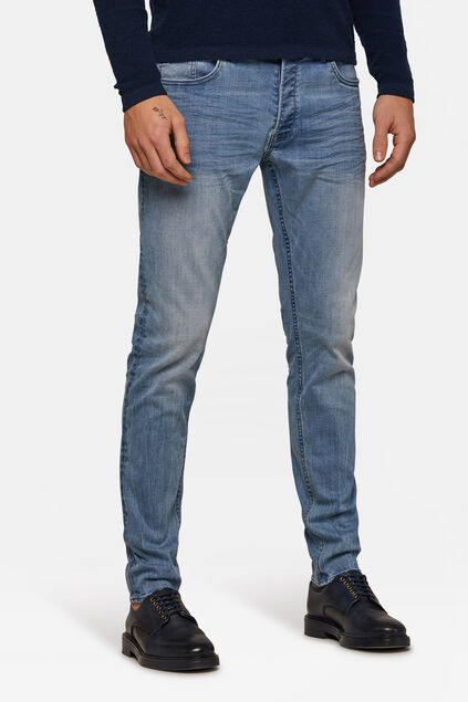 Jeans skinny tapered homme Bleu eclair
