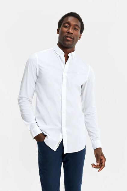 Chemise slim fit et tall fit homme Blanc