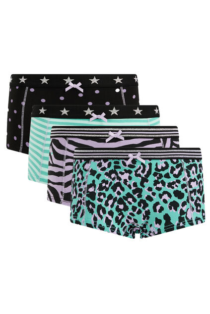 Hipsters fille, pack de 4 Lilas