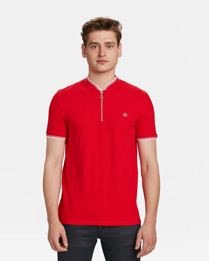 POLO SPORTY DETAIL HOMME Rouge vif