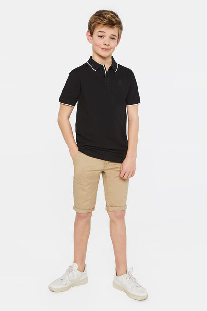 Short chino slim fit garçon Beige