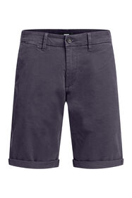 Short chino slim fit homme_Short chino slim fit homme, Bleu gris