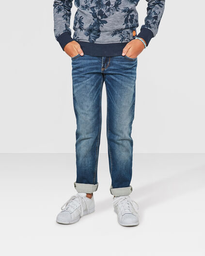 REGULAR FIT JOG DENIM GARÇON Bleu