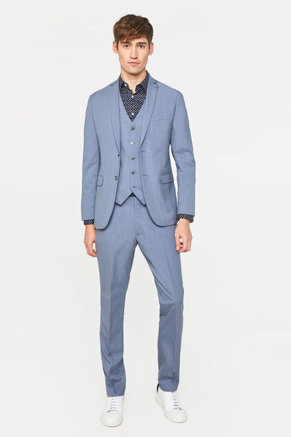 Costume slim fit stretch Dali homme