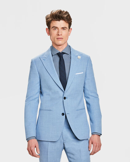 BLAZER SLIM FIT STOCKWELL HOMME Bleu eclair