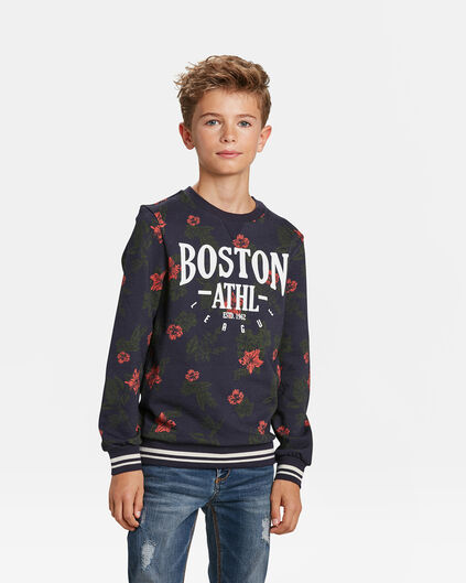 SWEAT-SHIRT MOTIF BOSTON GARÇON Imprimé