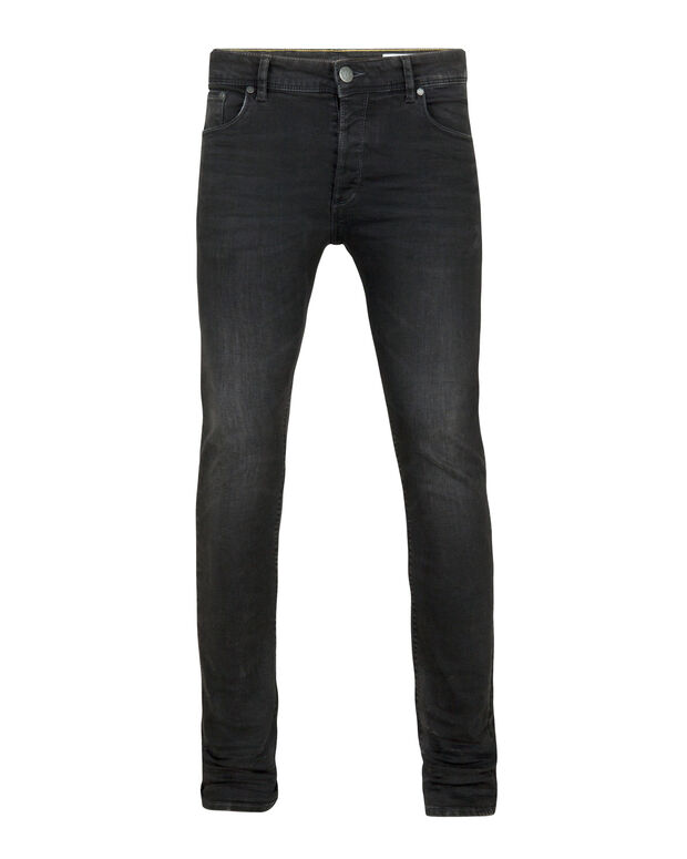 JEANS SKINNY TAPERED SUPER STRETCH HOMME Noir