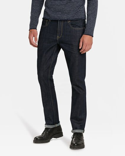 JEANS REGULAR STRAIGHT ORGANIC COTTON STRETCH HOMME Bleu