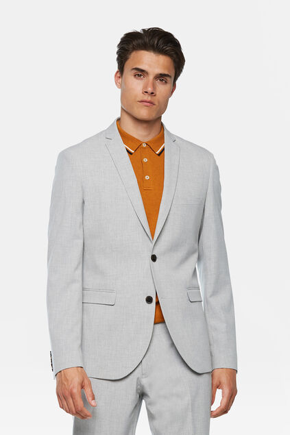 Blazer regular fit Dali homme Gris clair