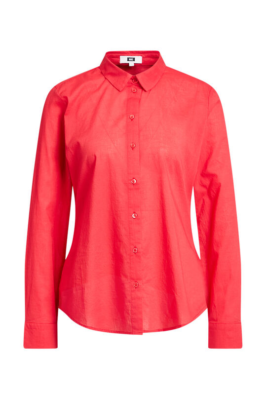 Chemisier regular fit femme Rose corail