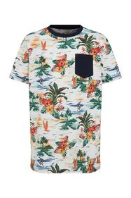 T-shirt à motif jungle garçon_T-shirt à motif jungle garçon, Imprimé
