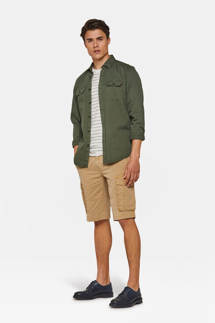 Short cargo relaxed fit homme Beige