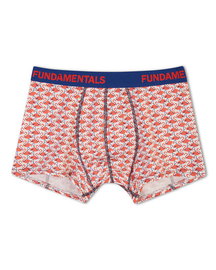 BOXER PRINT HOMME Rouge
