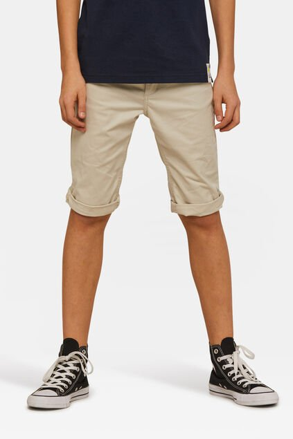 Short slim fit garçon Beige