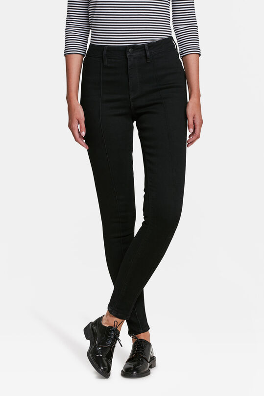 401489894d JEAN TAILLE HAUTE SUPER SKINNY NERVURÉ FEMME | 84477781 - WE Fashion