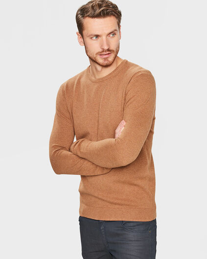 PULL STRUCTURE HOMME Beige