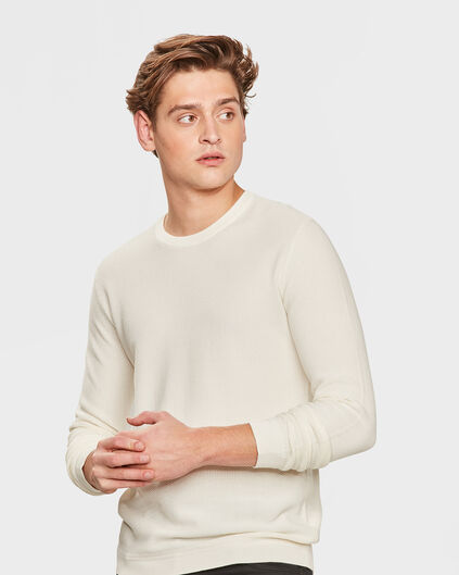 PULL STRUCTURE HOMME Blanc