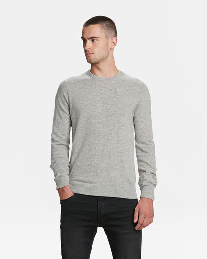 PULL LAMBSWOOL HOMME Blanc