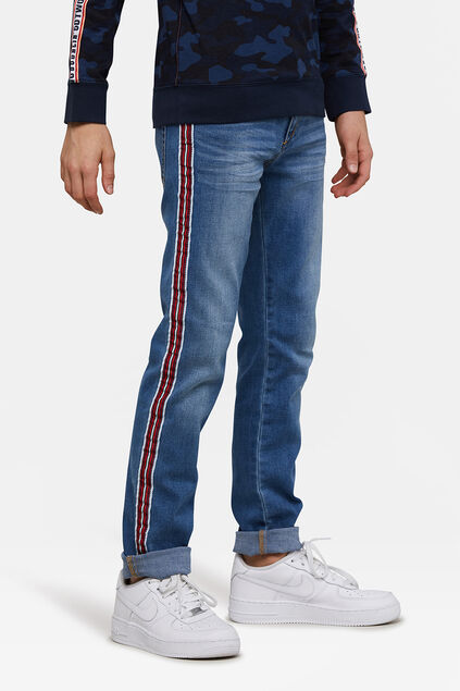 Jeans skinny fit super stretch garçon Bleu