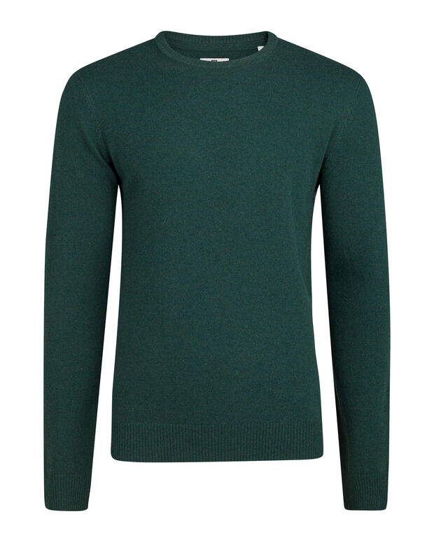 PULL LAMBSWOOL HOMME Vert mousse