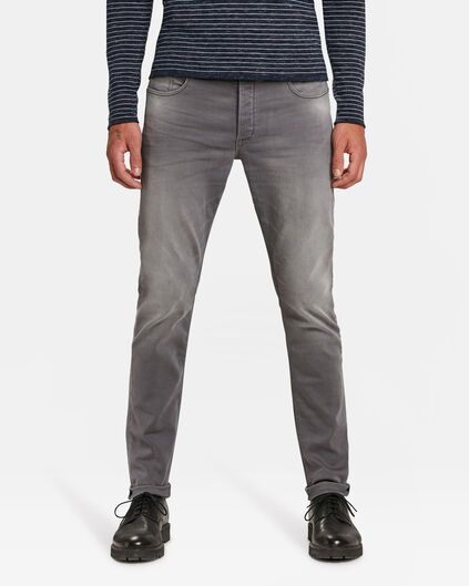 JOG DENIM SKINNY TAPERED HOMME Gris