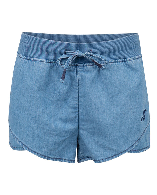 SHORT REGULAR FIT DENIM FILLE Bleu eclair