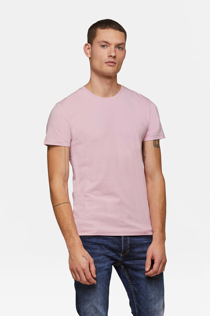 T-SHIRT HOMME BASIC Rose saumon