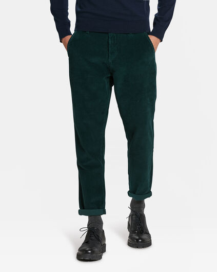 CHINO CORDUROY HOMME Vert mousse