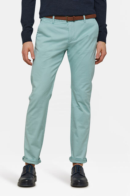 Chino skinny fit homme Vert menthe