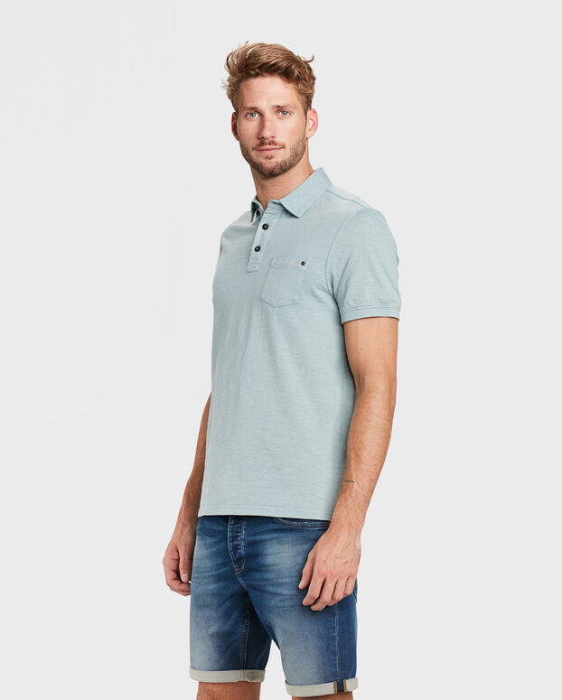 POLO ONE POCKET HOMME Bleu eclair